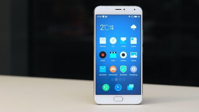 Meizu Pro 5 - the fastest Android smartphone