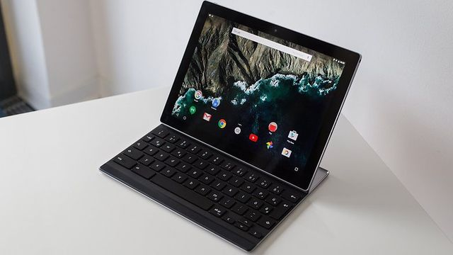 Review Google Pixel C: modern tablet with keyboard