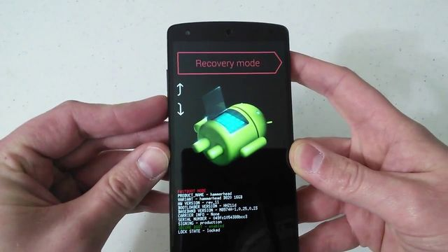 Recovery Mode on Android: default and applications