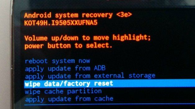 Hard reset zte grand x and return to factory settings