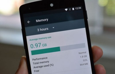 Why Android memory is less than indicated in specifications?