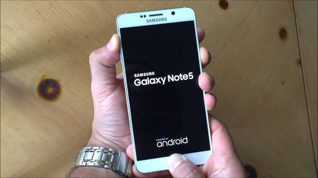 Hard reset Galaxy Note 5: remove unlock pattern