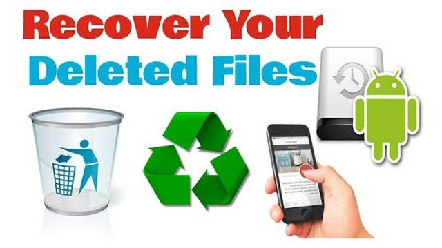 How to recover deleted files on Android?