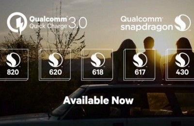 What smartphones support Qualcomm Quick Charge 3.0?