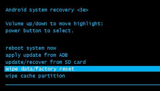 Hard Reset Ellipsis 8 tablet: return factory settings