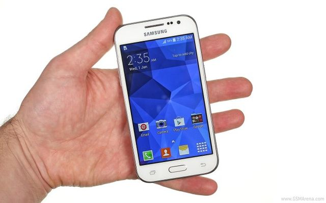 Hard reset Galaxy Core Prime: step by step instruction