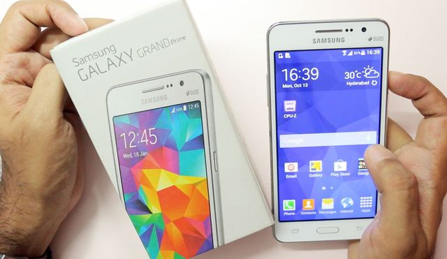 Hard reset for Galaxy Grand Prime