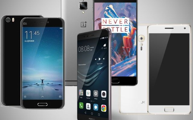 Comparison Chinese smartphones: Huawei P9 Plus vs ZUK Z2 vs OnePlus 3 vs Xiaomi MI5: