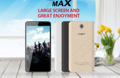 Review Cubot Max: 6-inch smartphone with 3GB of RAM
