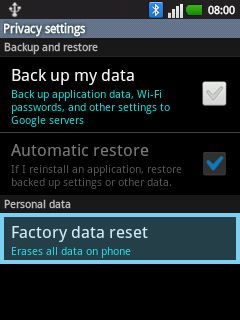 LG E400 Hard Reset: quick ways to restore the factory settings