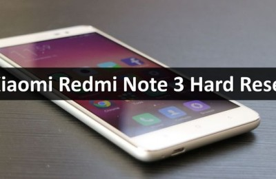 Xiaomi Redmi Note 3 hard reset: unlock bootloader
