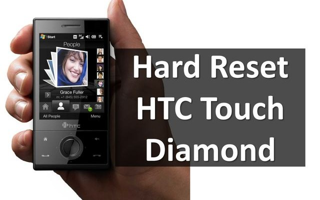 How to Hard Reset HTC Touch Diamond