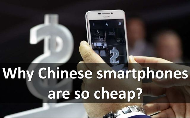 Why Chinese smartphones are so cheap? Cheating and tricks from manufacturers