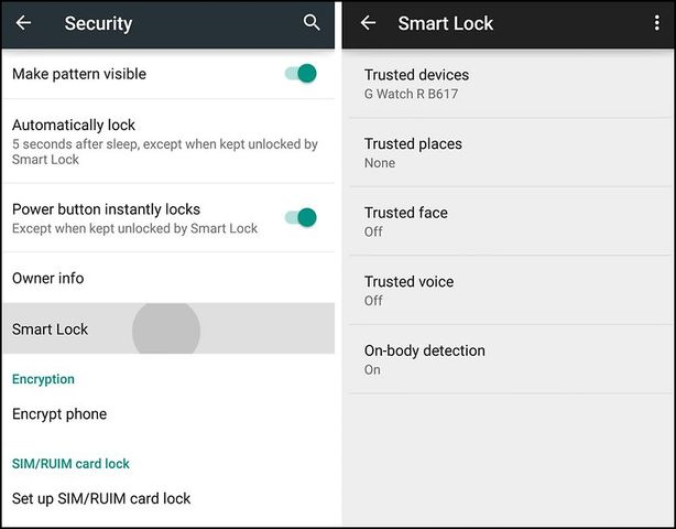 What is Smart Lock on Android? How to set up Smart Lock?