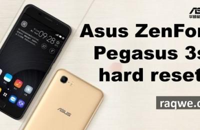 Asus ZenFone Pegasus 3s hard reset