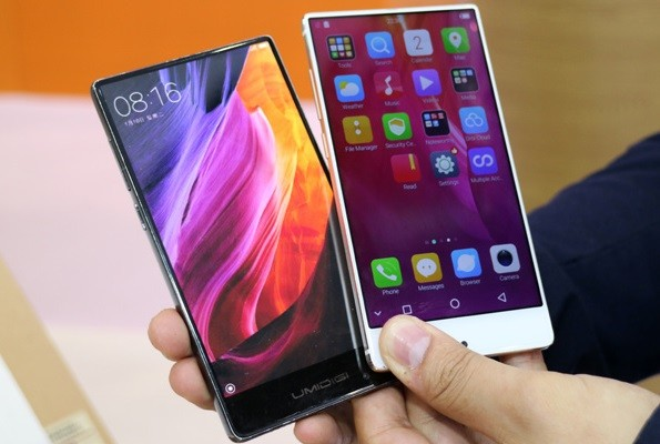 Review Umidigi Crystal and Crystal Pro: two frameless clones of Xiaomi Mi Mix - Price, release date, specifications and comparison