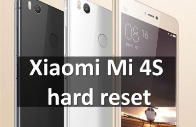 Xiaomi Mi 4S hard reset with Locked Bootloader in 5 minutes