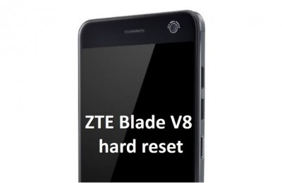 ZTE Blade V8 hard reset: the easiest way to restore phone